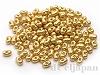 BB4202 ベリービーズ(大) 3.3×5.5mm ×10g【外銀メッキ着色ゴールド】