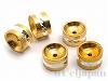 メタルロンデル 10×6mm (ゴールドカラー) ×5個