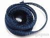 4 メタルメッシュリボン(ブルー) ×1m