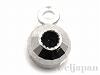 0.9〜1mmチェーン スライド調節用3mmライトミラーボール(カン付) K14WG(ホワイトゴールド)
