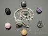 7種の天然石MIXペンデュラムセット