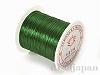 カラーゴム(平/深緑)12m×0.8mm