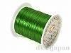カラーゴム(平/緑)12m×0.8mm