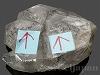水入り水晶(ナチュラルポイント) 114g