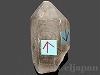 水入り水晶(ナチュラルポイント) 132g
