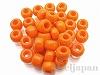 #405 6.5mm EEビーズ ×10g【ライトオレンジ(ギョク)】